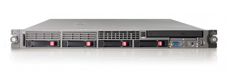 Ilustrace 1U rack Virtual Minimax server