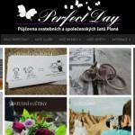 Spuštěn nový web, www.perfectdayplana.cz – Půjčovna svatebních a společenských šatů Planá