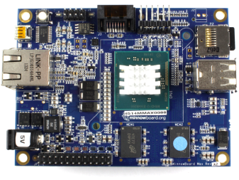Windows 10 IoT Core: MinnowBoard Max (x86, Intel Atom E38XX)