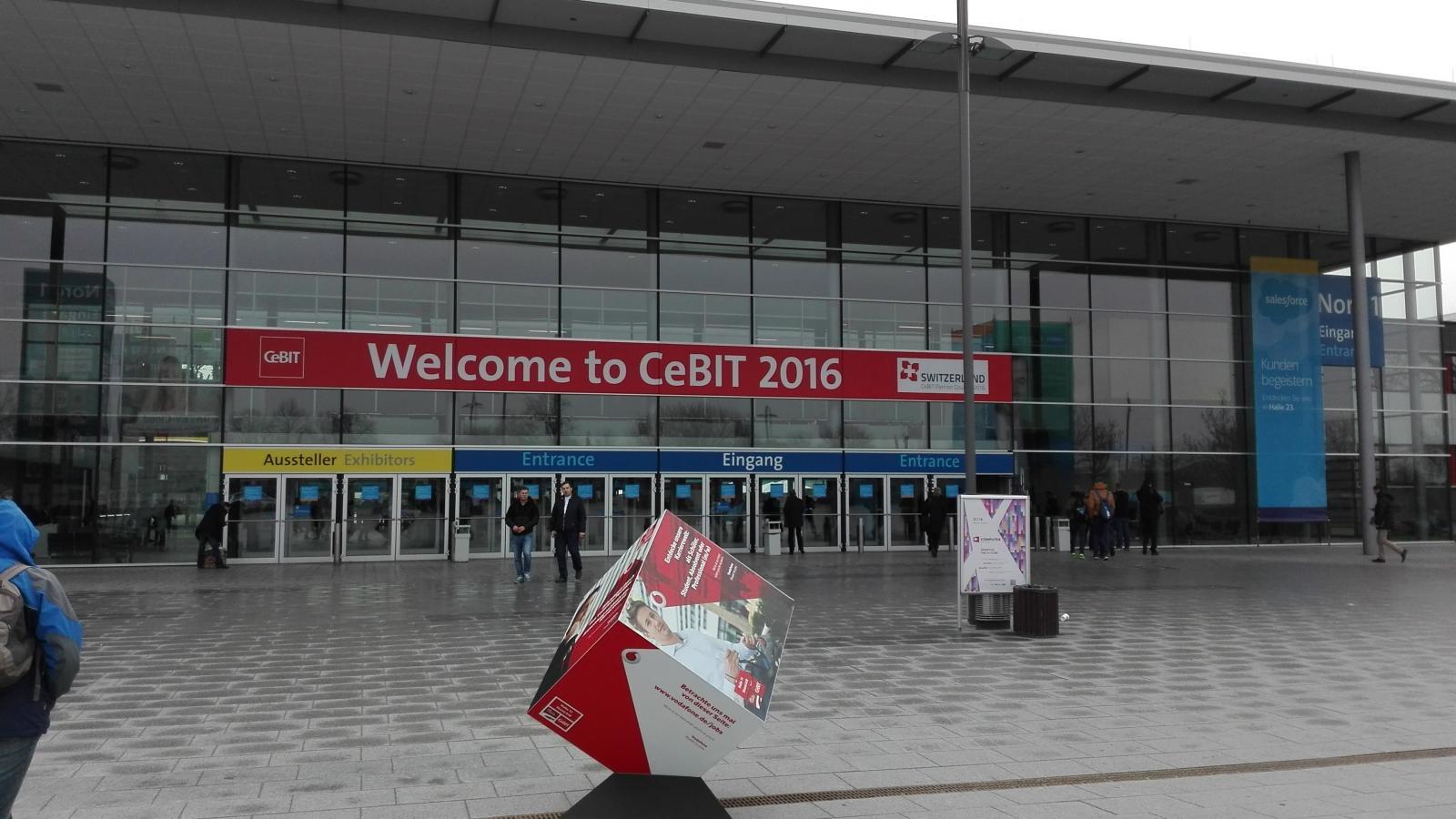 Několik vět CeBIT2016, Hannover