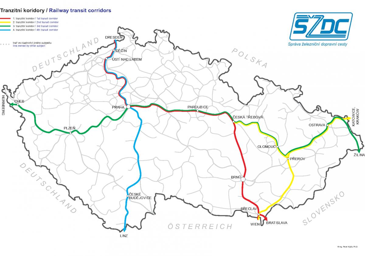 Výsledky měření ČTU pokrytí železničních tratí signálem mobilních sítí