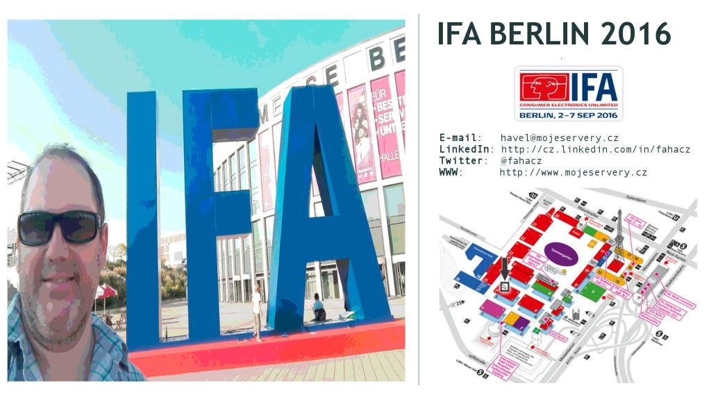 Video: Veletrh IFA Berlin 2016