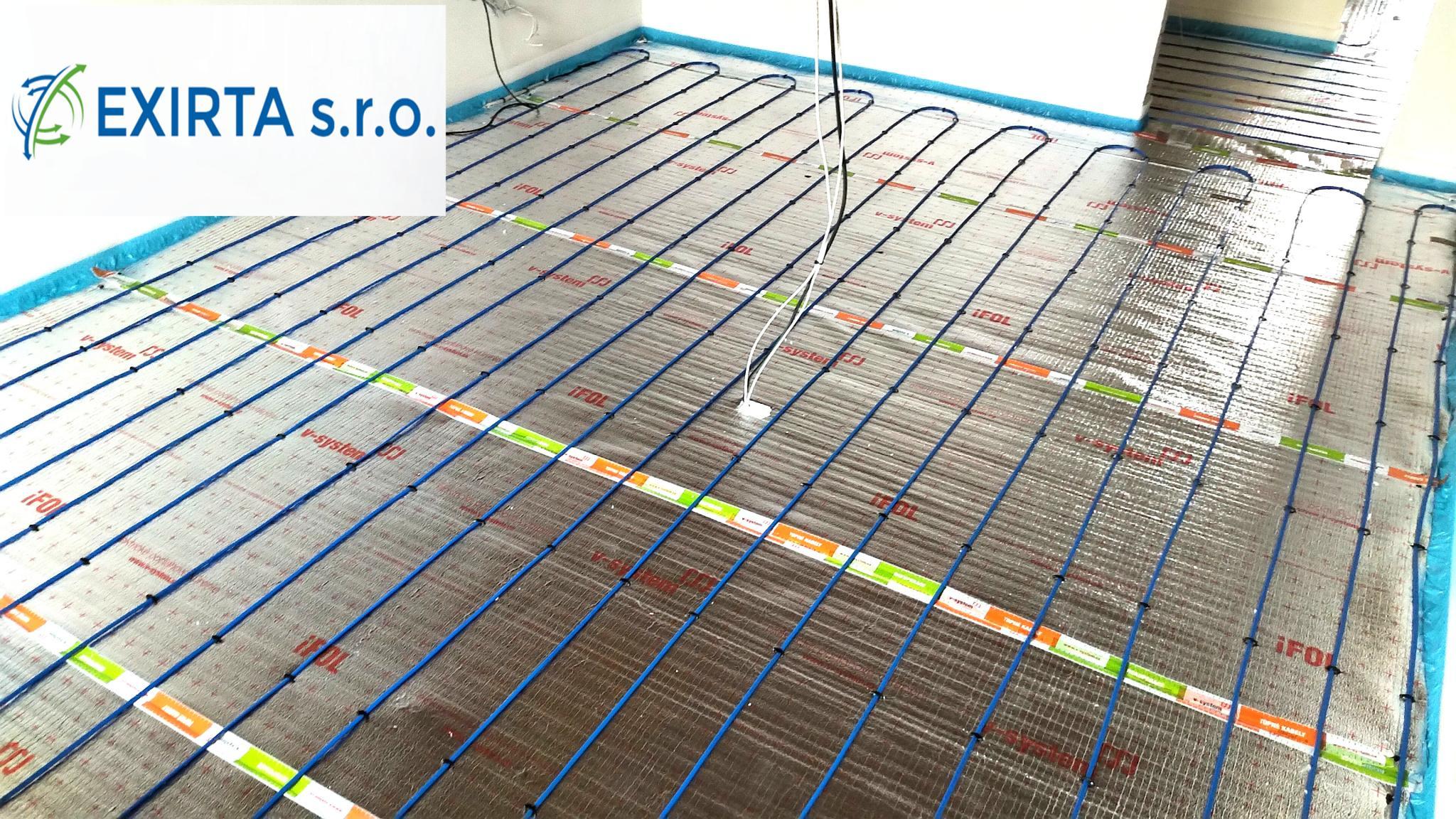 Výhody elektrického podlahového vytápění.